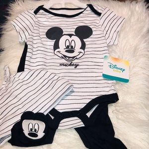 Mickey Mouse officially licensed matching 3pc set
